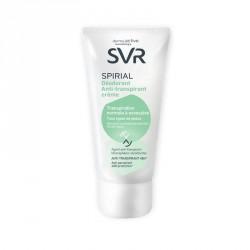 SVR spirial crème antitranspirante 50ml