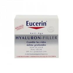 Eucerin Hyaluron Filler Anti Rides Jour Peaux sèches 50ml