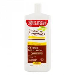 Rogé Cavaillès Amande verte gel surgras bain et douche parfumé 1 litre