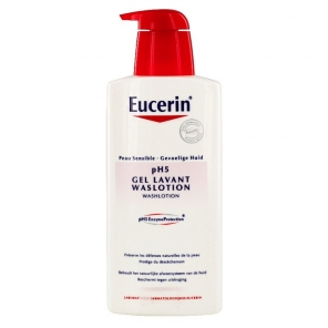 Eucerin peau sensible Ph5 gel lavant 400ml
