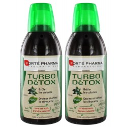 Forté Pharma Minceur Turbo Détox Lot de 2x500ml