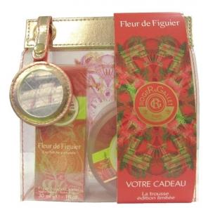 Roger Gallet Trousse Fleur de Figuier Eau Fraîche 30ml + Savon 100g