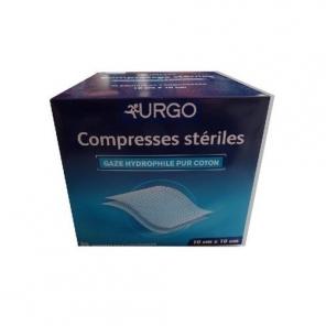 Urgo compresse stérile 10 x 10 cm 50 sachets de 2