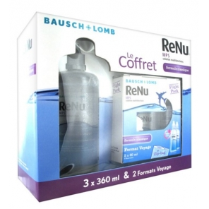 Bausch & Lomb Renu Coffret Solution Lentilles 3 x 360ml + 2 x 60ml