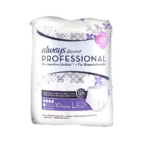 Always Discreet Professional Normal Taille L 10 Protections Incontinence