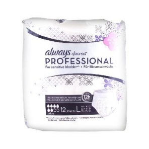 Always Discreet Professional Plus Taille L 12 Protections Incontinence