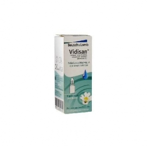 Bausch + Lomb Vidisan Solution Ophtalmique 10 ml
