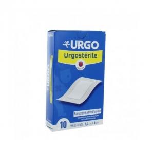 URGO URGOSTERILE PANSEMENT ADHESIF STERILE X 10 5.3CM X 8CM