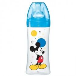 Dodie Biberon Initiation 330Ml Mickey Bleu Plus de 6 Mois