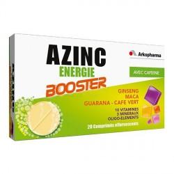 Arkopharma Azinc Energie Booster 20 Comprimés Effervescents