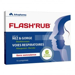 Arkopharma FlashRub 15 Comprimés