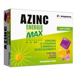 Azinc énergie max 30 comprimés