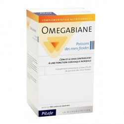 Pilèje Omegabiane poissons des mers froides 100 capsules