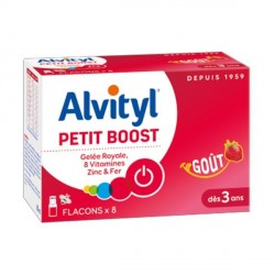 Alvityl petit boost 8 flacons goût fraise 10ml