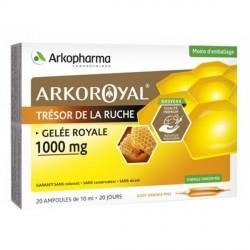 Arkopharma arkoroyal gelée royale 20 ampoules 1 000mg