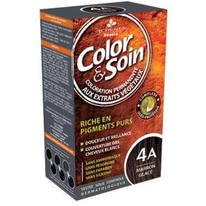 3 Chênes Color&Soin marron glacé coloratlion permanante 4A
