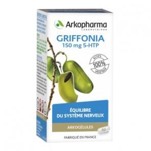 Arkopharma Arkogélules Griffonia complément alimentaire 40 gélules