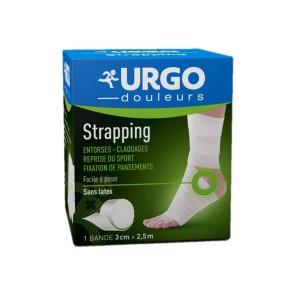 Urgo Strapping bande élastique tissée 3cmx2,5m