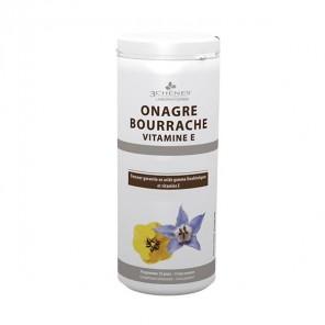 3 Chênes onagre bourrache vitamine e 150 capslules