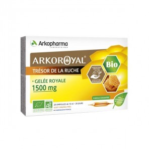 ARKOROYAL GELEE ROYALE1500MG BIO AMP 20
