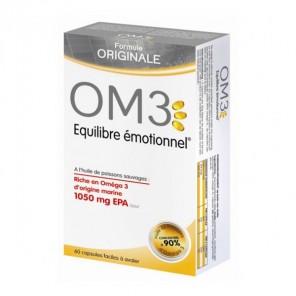 Om3 Equilibre émotionnel complément alimentaire 60 capsules