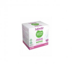Saforelle coton protect 10 serviettes hygiénique