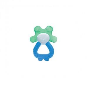 Dodie anneau de dentition réfrigéré 2 en 1 bleu/vert