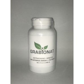 GRABYONAT Artémisinine / Armoise (Artemisia annual) 100 capsules