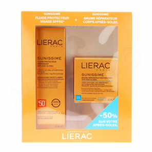 LIERAC SUNISSIME COFFRET FLUID SPF50 40ML