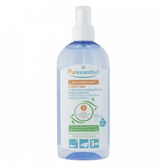 Puressentiel Lotion Spray Antibacterien Mains et Surfaces 250ml