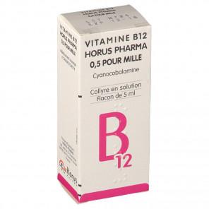 VIT B12 COLLYRE ALLERGAN 5 ML