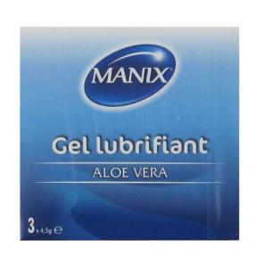 MANIX gel lubrifiant 3 doses