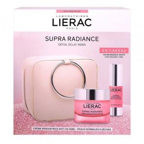 Coffret LIERAC - crème et sérum supra radiance