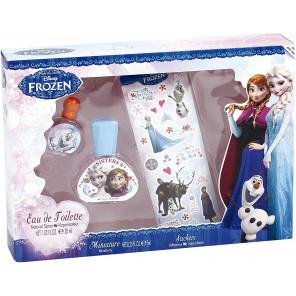 Coffret Eau de toilette REINE DES NEIGES, ELSA ET ANNA 30ml + miniature 7ml + stickers