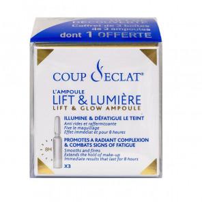 Coup d'éclat ampoules lifting OFFRE DECOUVERTE 3 boites de 3 ampoules - 1 Boite offerte