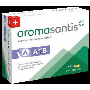 Aromasantis® Dia voies générale et digestive huiles essentielles boite 15 capsules