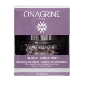 ONAGRINE GLOBAL EXPERTISE SÉRUM ANTI-ÂGE INTENSIF 30 CAPSULES