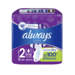 Always Ultra Long Taille 2 12 serviettes