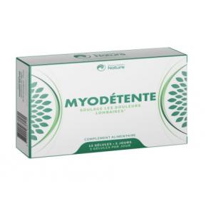 Prescription Nature Myodetente 15 gélules