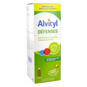 Alvityl Defenses Sirop 240 ml