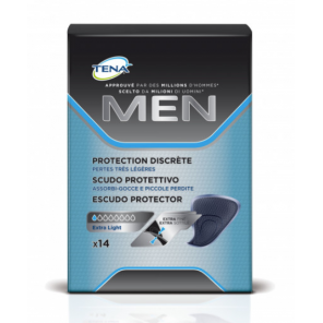 Tena Men Protection Discrète 14 pièces