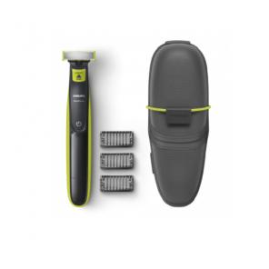Philips One Blade 3 sabots + Trousse de Transport