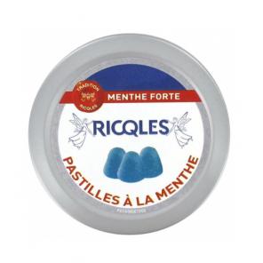 Ricqlès Pastilles à la Menthe Sans Sucres 50g