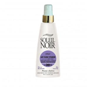 SOLEIL NOIR lait fluide vitaminé SPF30 peau claire