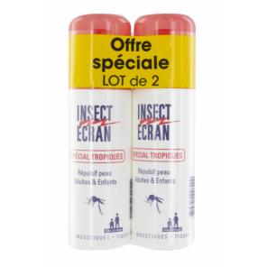 Insect Ecran Spécial Tropiques Lot 2x75ml